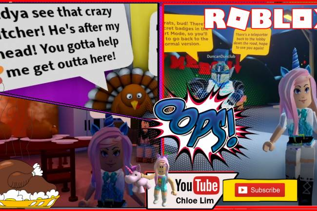 Roblox Save Tom the Turkey Obby Gamelog - November 30 2019