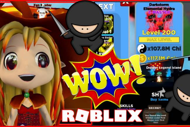 Roblox Ninja Legends Gamelog - January 31 2020