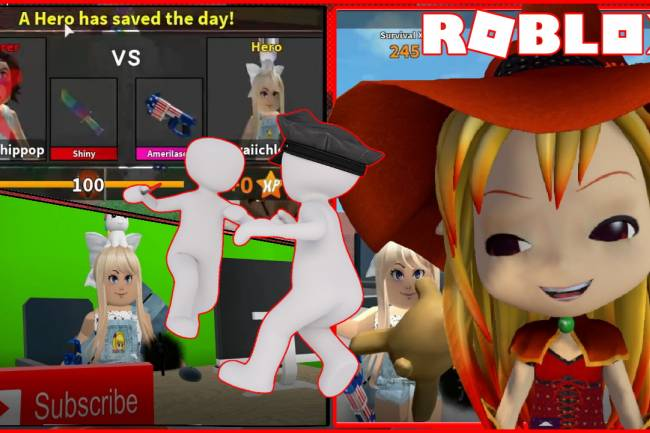 Roblox Murder Mystery 2 Gamelog - March 13 2020
