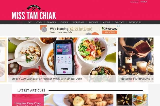 Miss Tam Chiak: Singapore's Best Food Blog